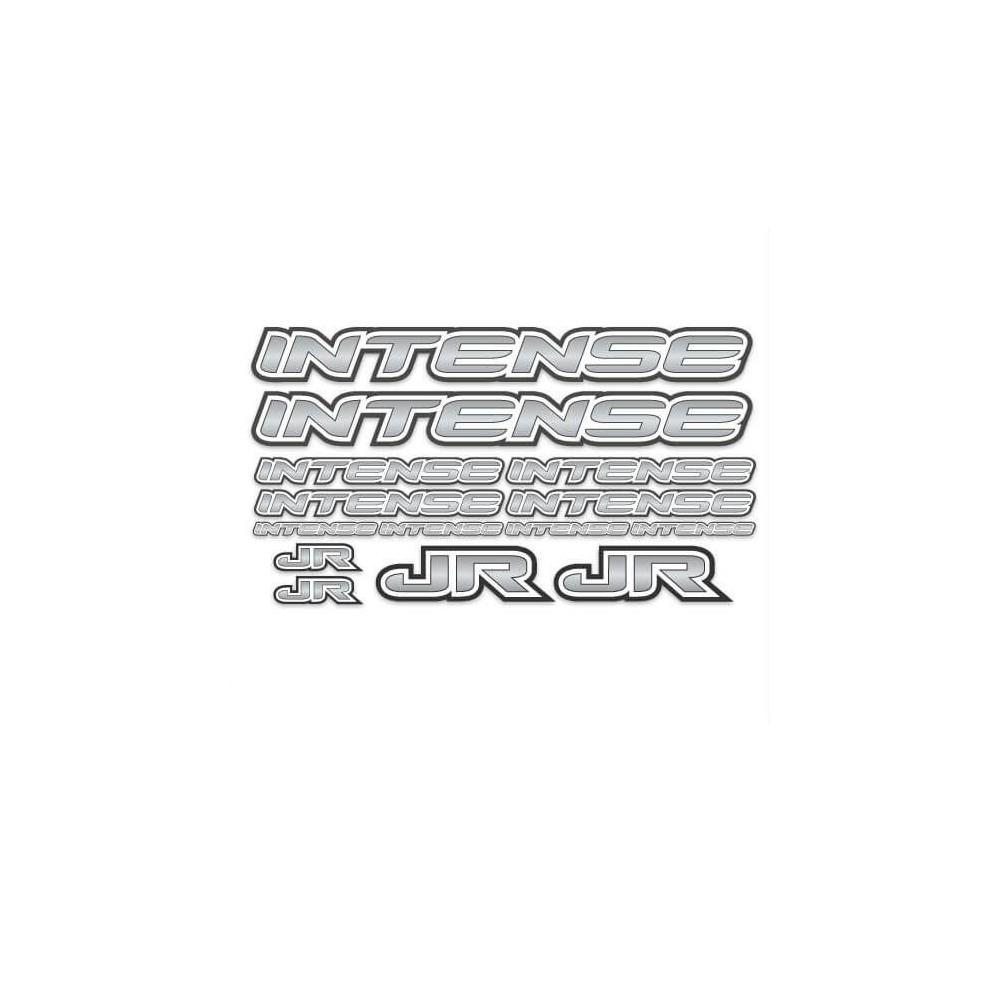 BMX Intense Sticker Set Grijs