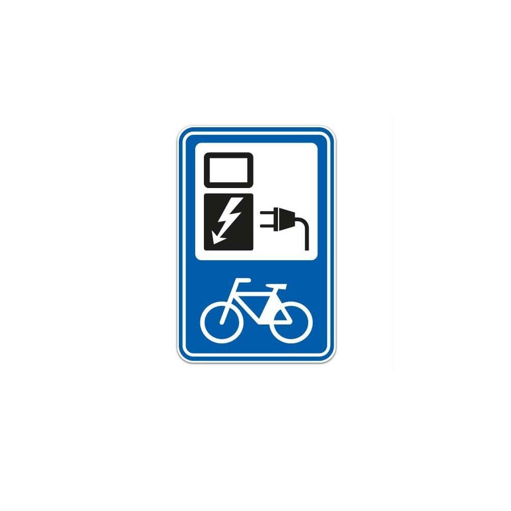 Scooter Fiets Oplaadpunt Sticker