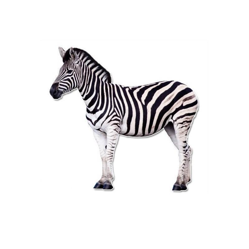 Zebra muursticker