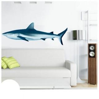 Haai muursticker