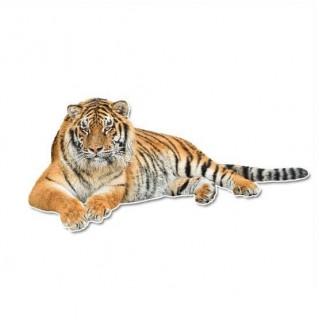 Grote tijger muursticker