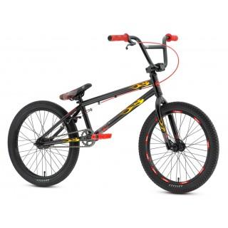BMX Vlammen Stickers fiets Set
