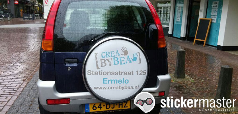 Wheelcover sticker