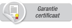 Garantie certificaat