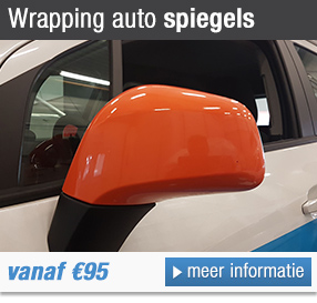 Wrapping auto spiegels
