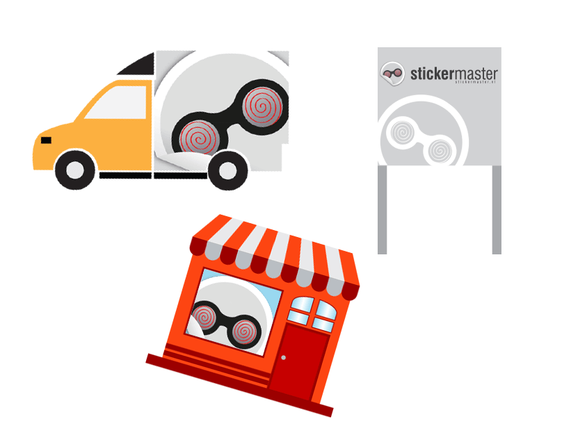 Reclamecentrum Stickermaster